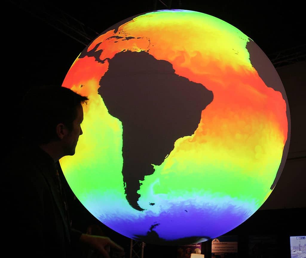 Klimavisualisierung